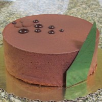 Grasshopper Chocolate Mousse Cake