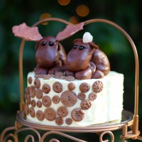 Leavenworth Wedding Cake Topper