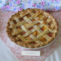 """You're Such a Peach"" Pie"