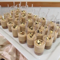 """Shot Through the Heart"" Cheesecake Shooters (pumpkin)"
