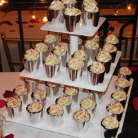 """Crush on the Red Velvet"" Cake Cups"
