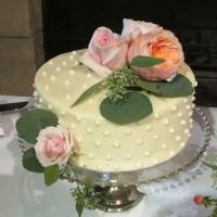 Seattle Golf Club Wedding Cake – 1